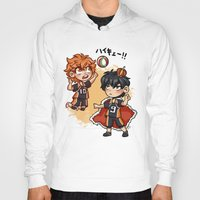 haikyuu Hoodies featuring haikyuu!!  by Minty Art