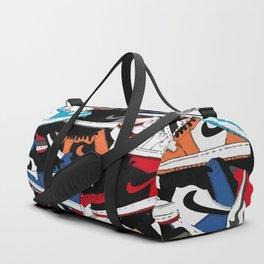 Jordan 1 Pattern Duffle Bag