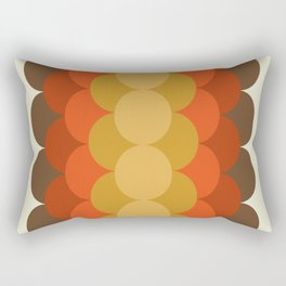 What It Is - abstract art minimal 70s style retro throwback decor 1970s Rectangular Pillow