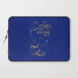 Anything Worth Doing - Nikolai Lantsov Laptop Sleeve