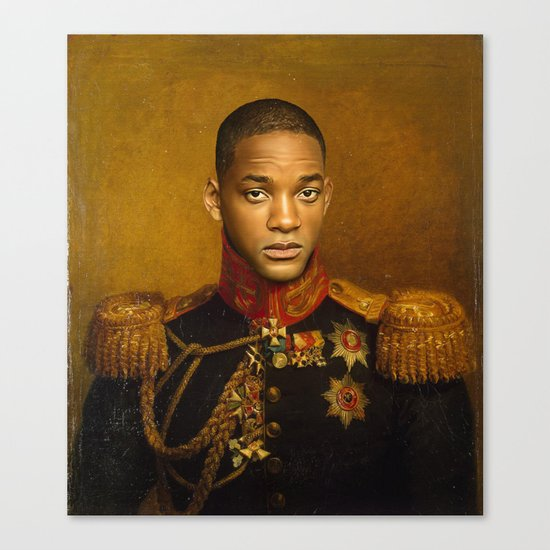 Will Smith - replaceface Canvas Print
