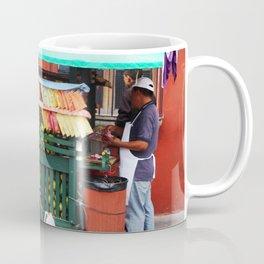Guatemalan Fruit stand Coffee Mug