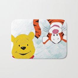 winnie the pooh and tigger Bath Mat