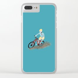 Gnarly Charlie Clear iPhone Case