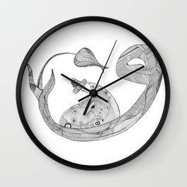 Humble Dervish Wall Clock