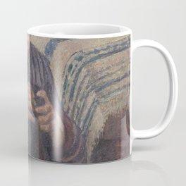 Camille Pissarro - Woman Mending Coffee Mug