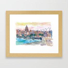 Dreaming of a Havana Cuba Malecon Evening Framed Art Print