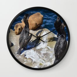 Hard Day Wall Clock
