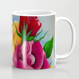 Flower Power Roses by Andrea Coffee Mug