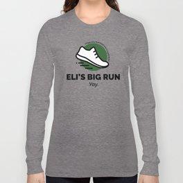 Eli's Big Run Long Sleeve T-shirt