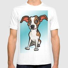 Miso (Beagle) Mens Fitted Tee MEDIUM White