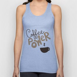 Coffee Power Unisex Tank Top