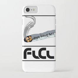 FLCL Never Knows Best Cigarette iPhone Case