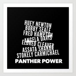 Panther Power Art Print