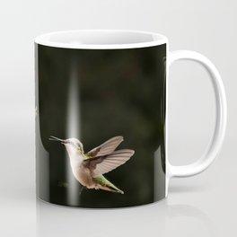 Hummingbirds and bee Coffee Mug