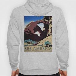 See America travel ad Hoody