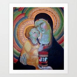 Choosy Mom No. 1 Art Print