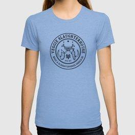Veggie Slaughterhouse Certified Badge T-shirt