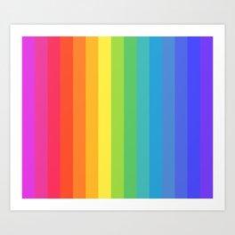 Solid Rainbow Kunstdrucke