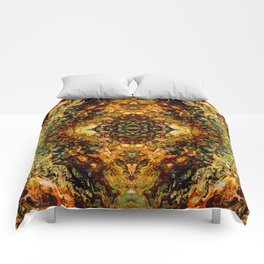 Abstract Acrylic Gem Painting Comforters