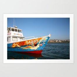 La Sirena, Valparaiso, Chile Art Print