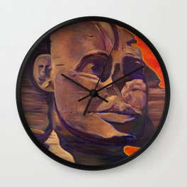 The Silent Sphinx Wall Clock