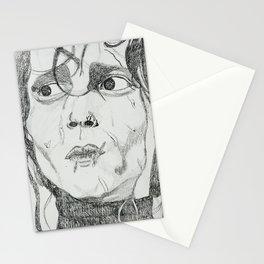 EDWARD SCISSOR HANDS Stationery Cards