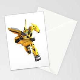 Cartoon Bumblebee Transformer Autobot Stationery Cards