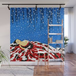 "Art Deco Design ""Beautiful Dreamer"" Wall Mural"