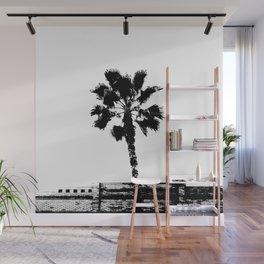 Black & White Palm Wall Mural