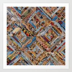 Southwest Kaleidoscope Art Print