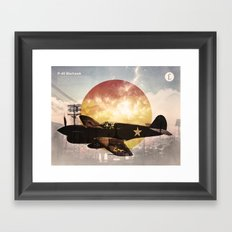 Warhawk Framed Art Print