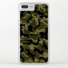 Camouflage Art3 Clear iPhone Case