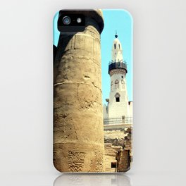 The Mosque of Abu Haggag, Luxor, Egypt iPhone Case