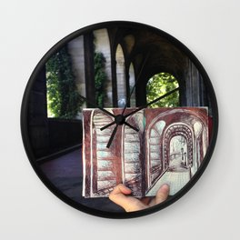 Arch-enemy  Wall Clock