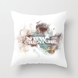 2 Corinthians 5:17 Throw Pillow