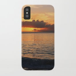 A Cayman Sunset iPhone Case
