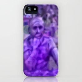 Thinking Lavandula iPhone Case