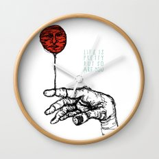 Life is Pretty Wall Clock