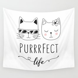 PurrrFect Wall Tapestry