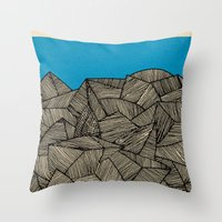 boat Throw Pillows featuring - boat - by Magdalla Del Fresto