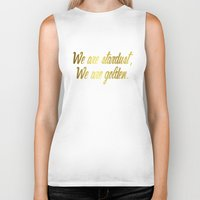woodstock Biker Tanks featuring Woodstock by Laura Maria Designs