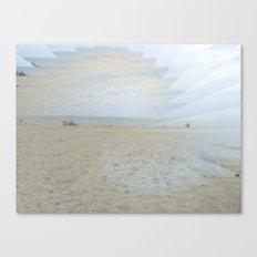 Illusion of Golden Beach Canvas Print