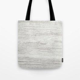 White Gray Marble Tote Bag