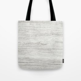White Gray Marble Tote Bag