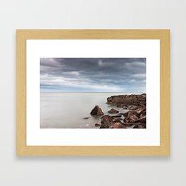 Silence. Sea. Framed Art Print