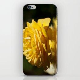 Yellow Rose Flood iPhone Skin