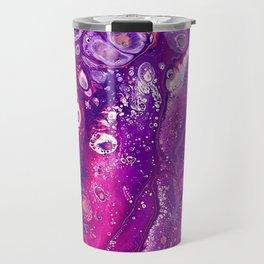 Candyland Acrylic Pour Travel Mug