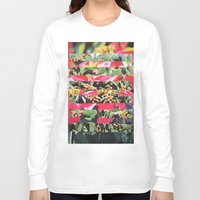 hippie Long Sleeve T-shirts featuring Hippie Hippie Hourrah   by Djuno Tomsni