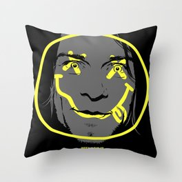 Teen Spirit Throw Pillow
